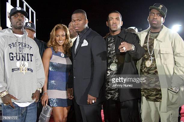 Young Buck Olivia 50 Cent Lloyd Banks and Tony Yayo
