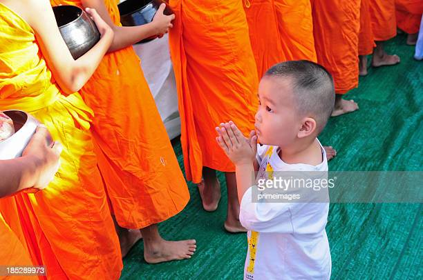 Young buddhism boy