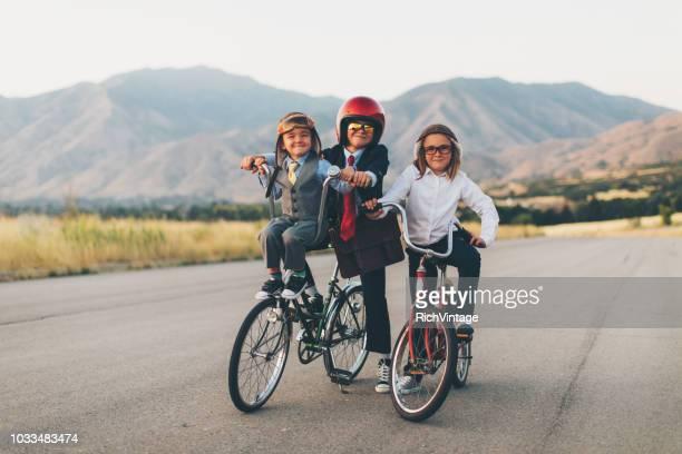 Young Business Biking Team