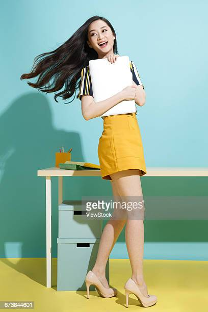 young business woman - 若い女性一人 ストックフォトと画像