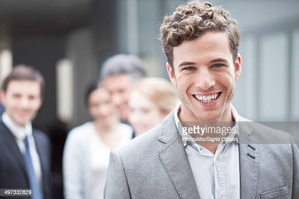Young businessman, portrait
