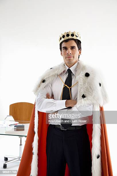 young businessman starting enterprise - king royal person stock pictures, royalty-free photos & images