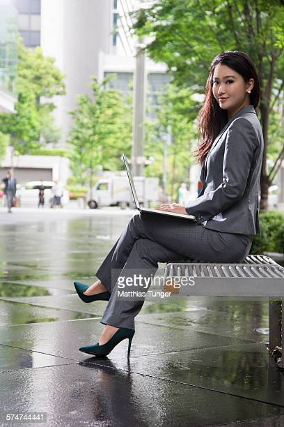 Young businesswoman in Tokyo