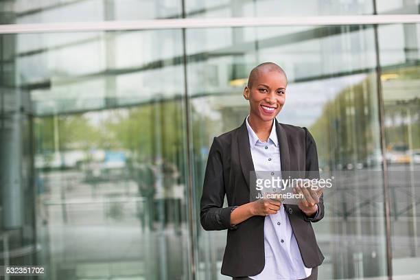 若い女性実業家のオフィス