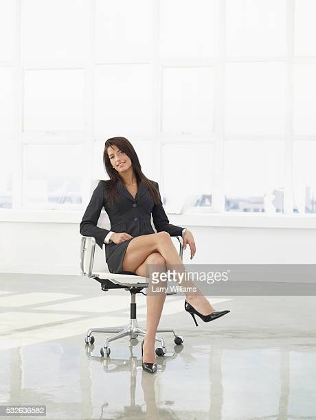 young businesswoman - women wearing short skirts stock pictures, royalty-free photos & images