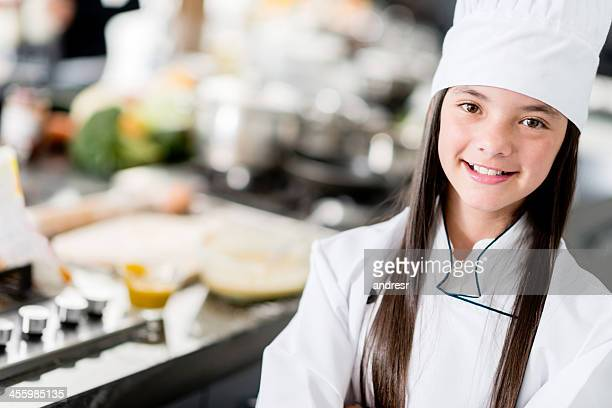 Young chef in the kitchen