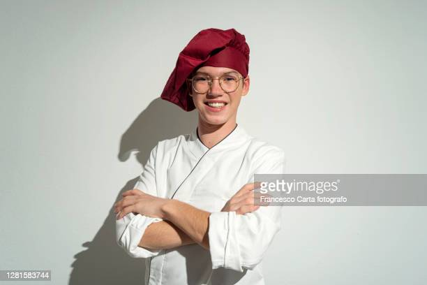young chef - tempio pausania stock pictures, royalty-free photos & images
