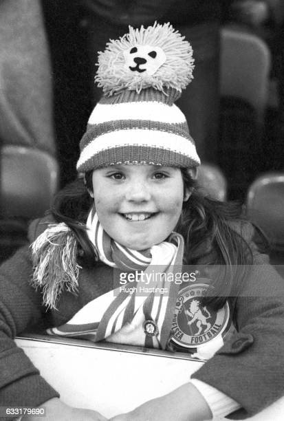 A young Chelsea supporter before the Football League Division Two match between Chelsea and Cambridge United at Stamford Bridge London on 7th...