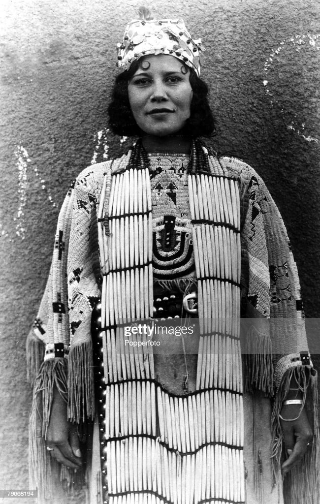 22Nd October A Full Bloodied Native Cherokee Indian Maiden -7621