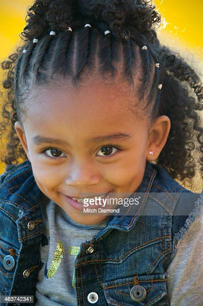 Black Little Girl Hairstyles Braids Stock Photos and Pictures ...