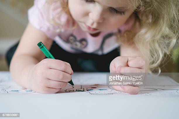 Young Child Coloring