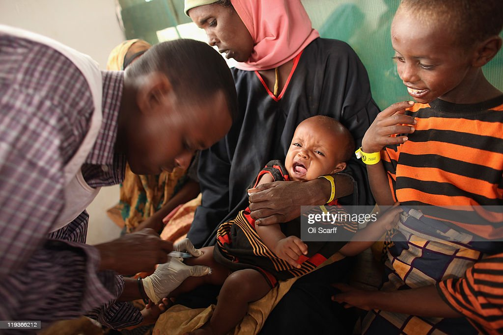 Displaced People At Dadaab Refugee Camp As Severe Drought Continues To Ravage East Africa : News Photo