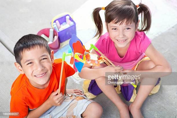 Young children bonding