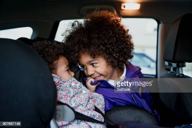 Young Children In Car Seats