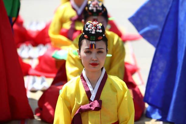 KOR: South Korea Celebrates Confucian Coming Of Age Ceremony