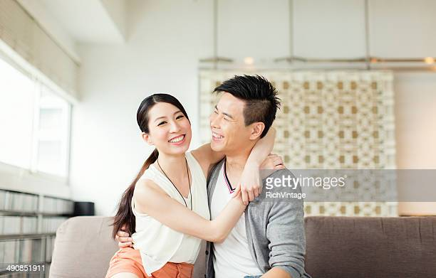 young chinese couple - chinese culture stock pictures, royalty-free photos & images