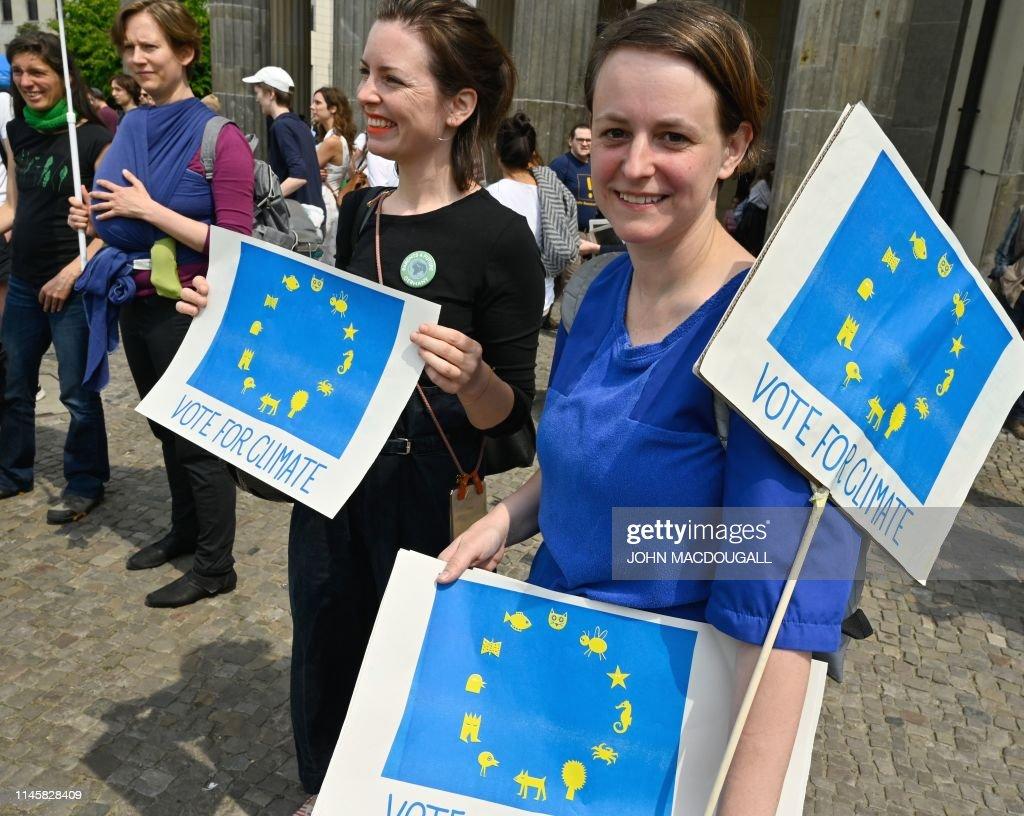 DOUNIAMAG-GERMANY-EU-CLIMATE-ENVIRONMENT-DEMONSTRATION : Foto di attualità