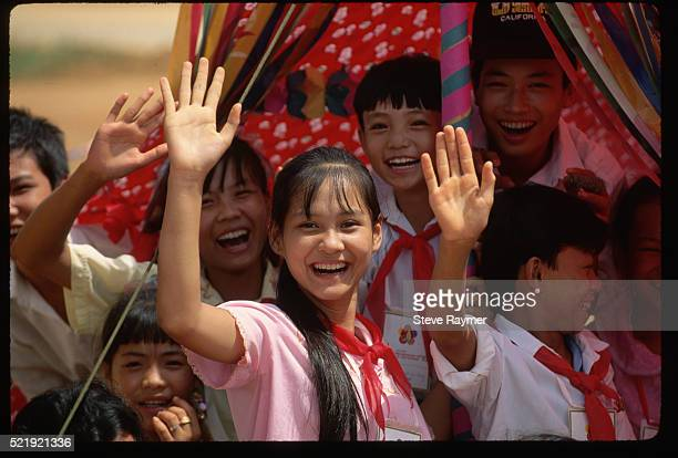 young communists in lao cai, vietnam - political party stock pictures, royalty-free photos & images