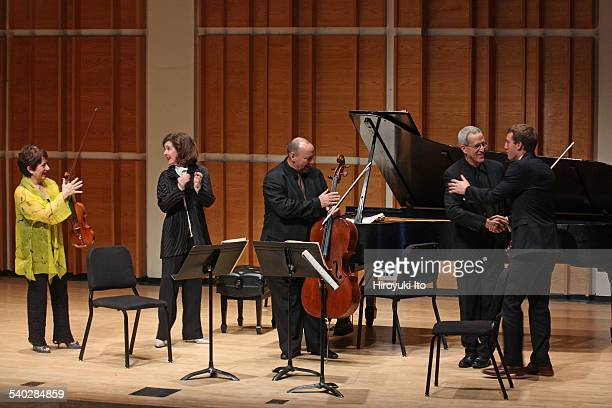 Young Concert Artists Composers Concert at Merkin Concert Hall on Tuesday night February 17 2015This imageThe composer Chris Rogerson far right with...