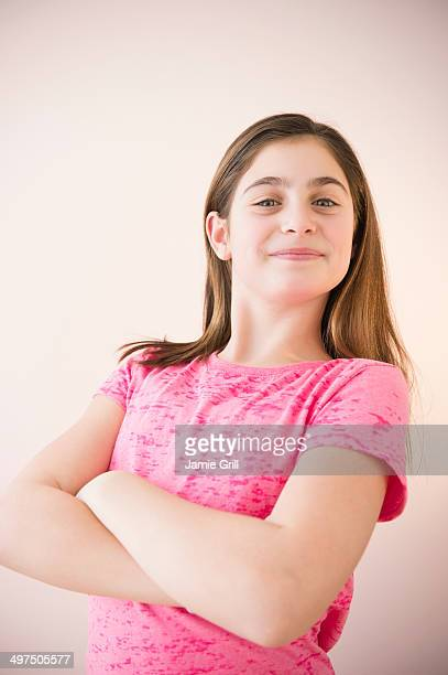 Young confident girl