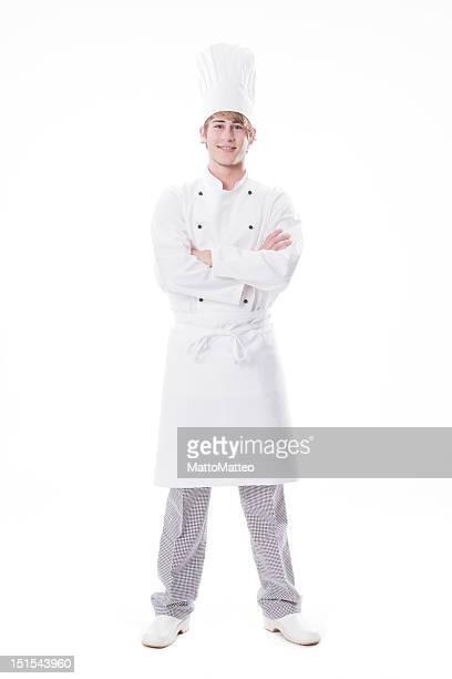 Junge cook