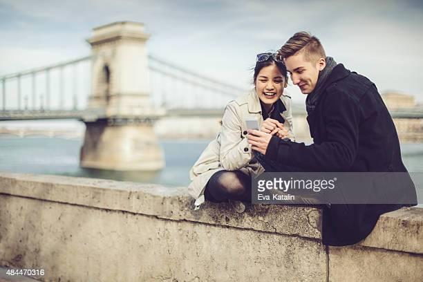 Junges Paar gemeinsam