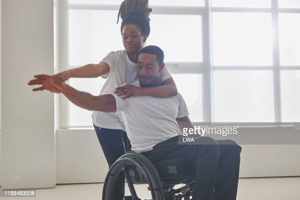 young couple dancing together - conquering adversity stock pictures, royalty-free photos & images