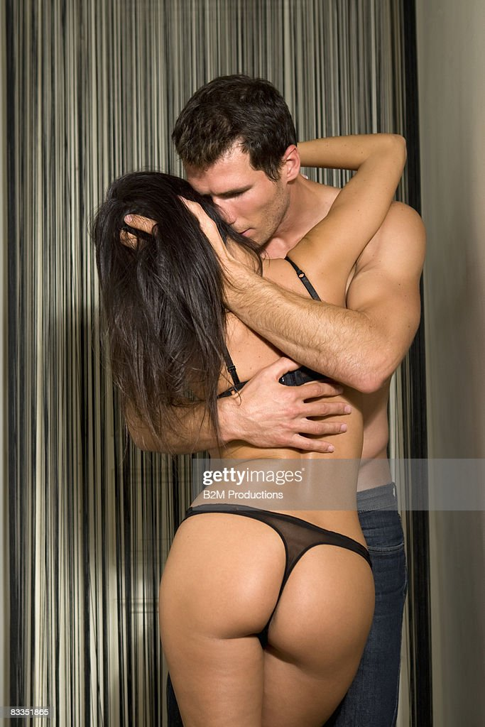 Young Couple Engaged In Sexual Intercourse Stock Photo -4806