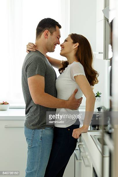 young couple enjoying life together - couples making passionate love stock pictures, royalty-free photos & images