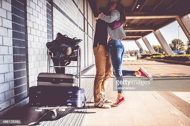 若いカップル観光