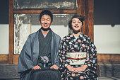 鎌倉の若いカップル
