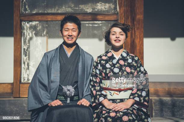 Young couple in Kamakura