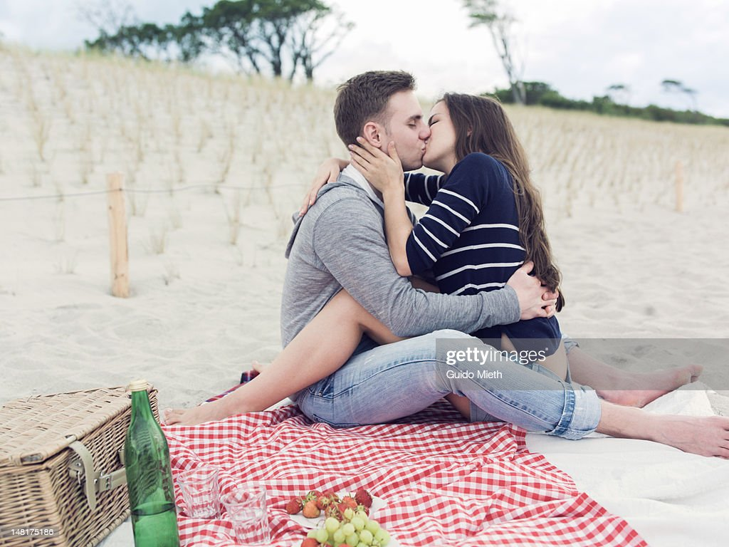 Kissing on the mouth stock photos and pictures getty images young couple in love kissing thecheapjerseys Image collections