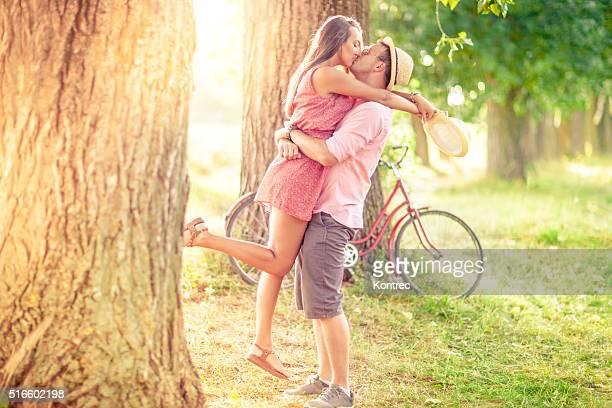 Junges Paar in Liebe