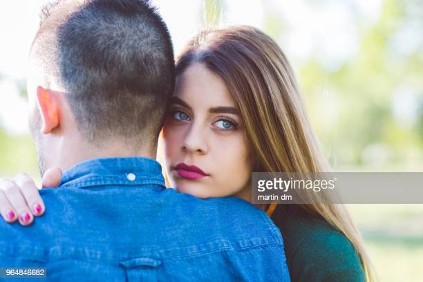 young couple in love - cheating wives photos stock photos and pictures