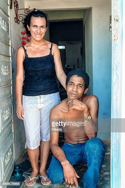 young couple in Trinidad, Cuba