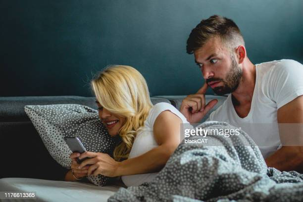 young couple is having relationship problems - boyfriend stock pictures, royalty-free photos & images