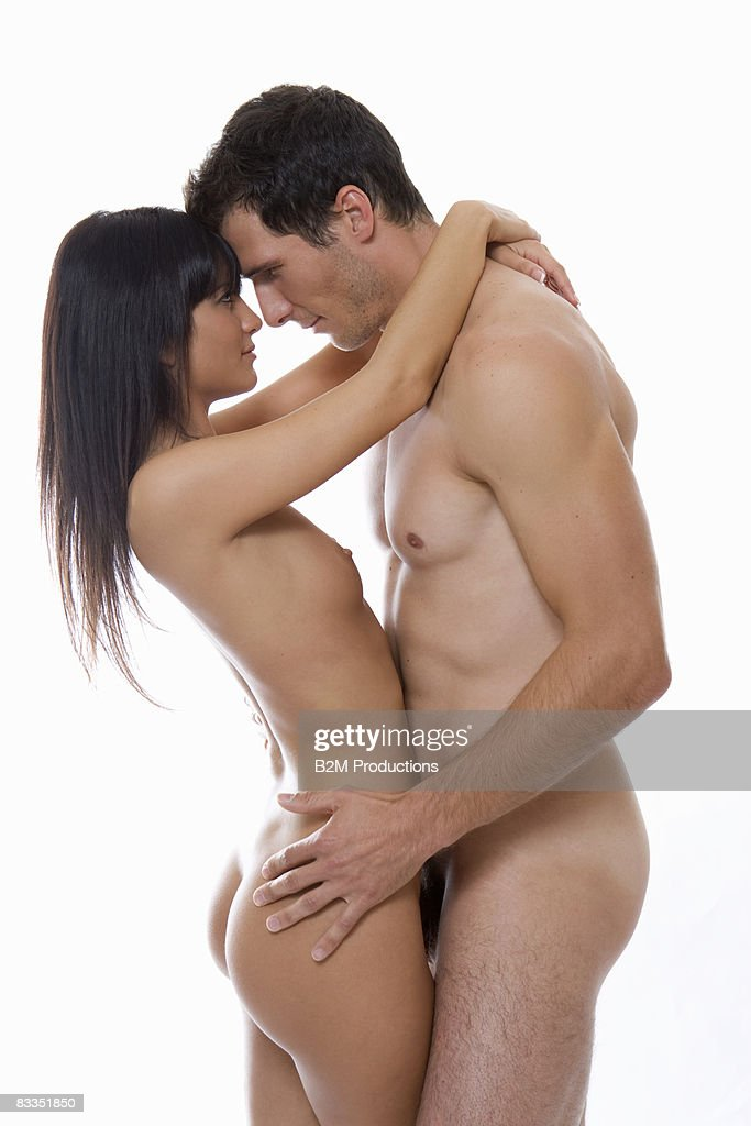 Young Couple Naked Embracing Stock Photo  Getty Images-3972
