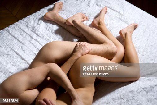 Young Couple Naked In Bed Stock Photo  Getty Images-6311