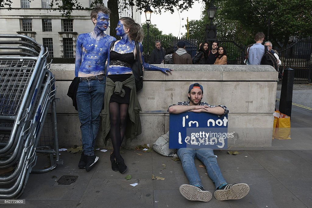 Britain Reacts To The EU Referendum Result : Fotografía de noticias