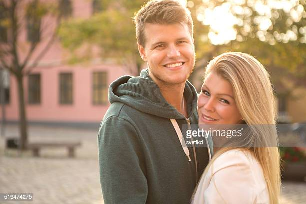young couple. - danish culture stock pictures, royalty-free photos & images