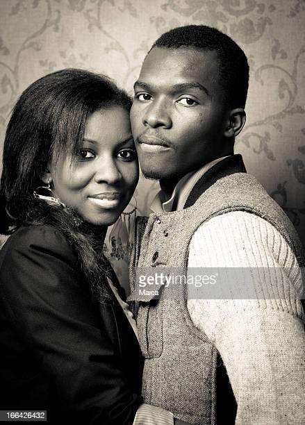 portrait de jeune couple.