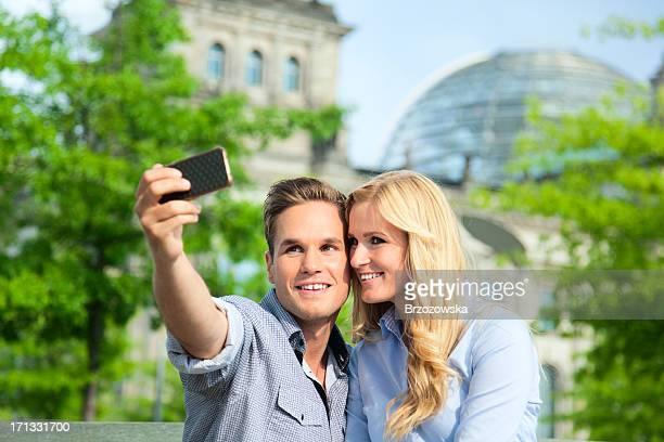 Junges Paar in Berlin