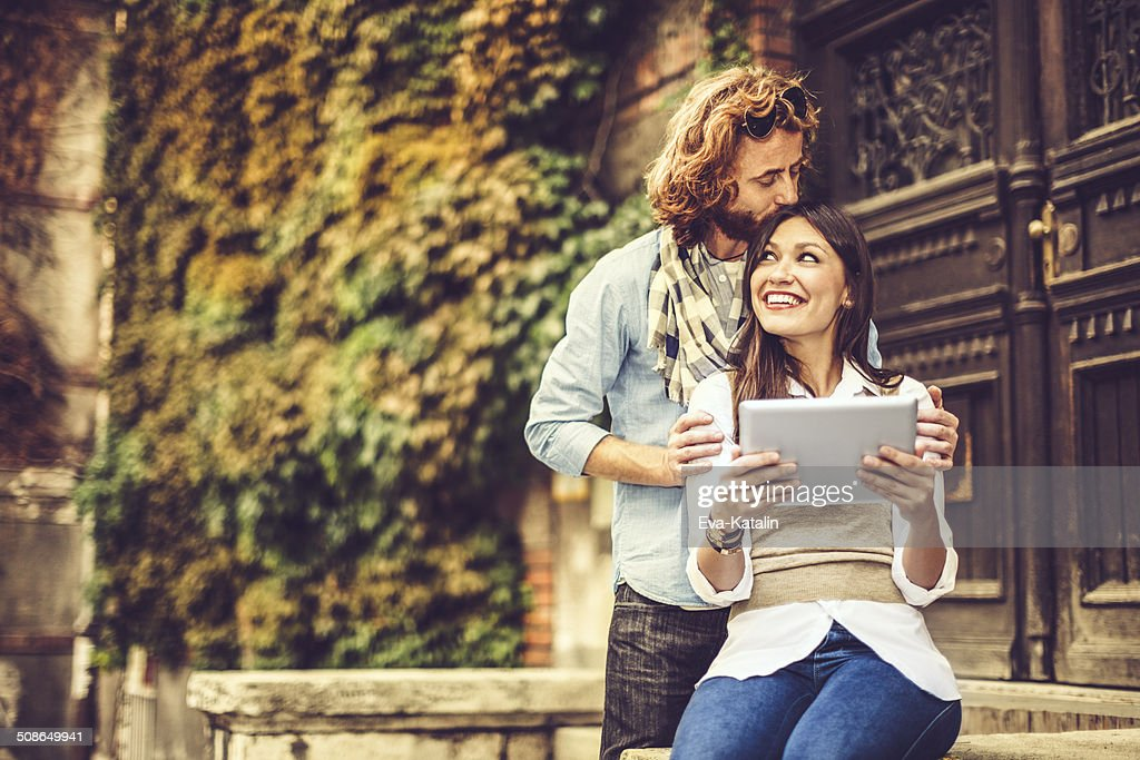 Young couple together : Stock Photo