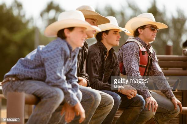 Young Cowboys Rodeo Audience