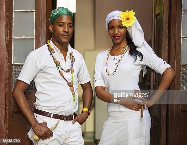 Young Cuban Couple, Havana, Cuba