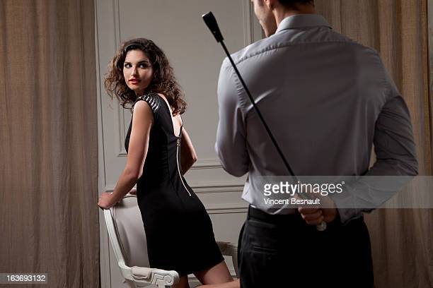 a young cupple - women dominating men stock photos and pictures