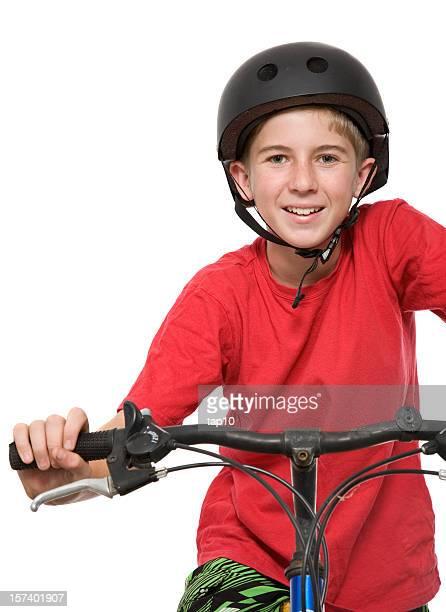 jovem ciclista - guidom - fotografias e filmes do acervo