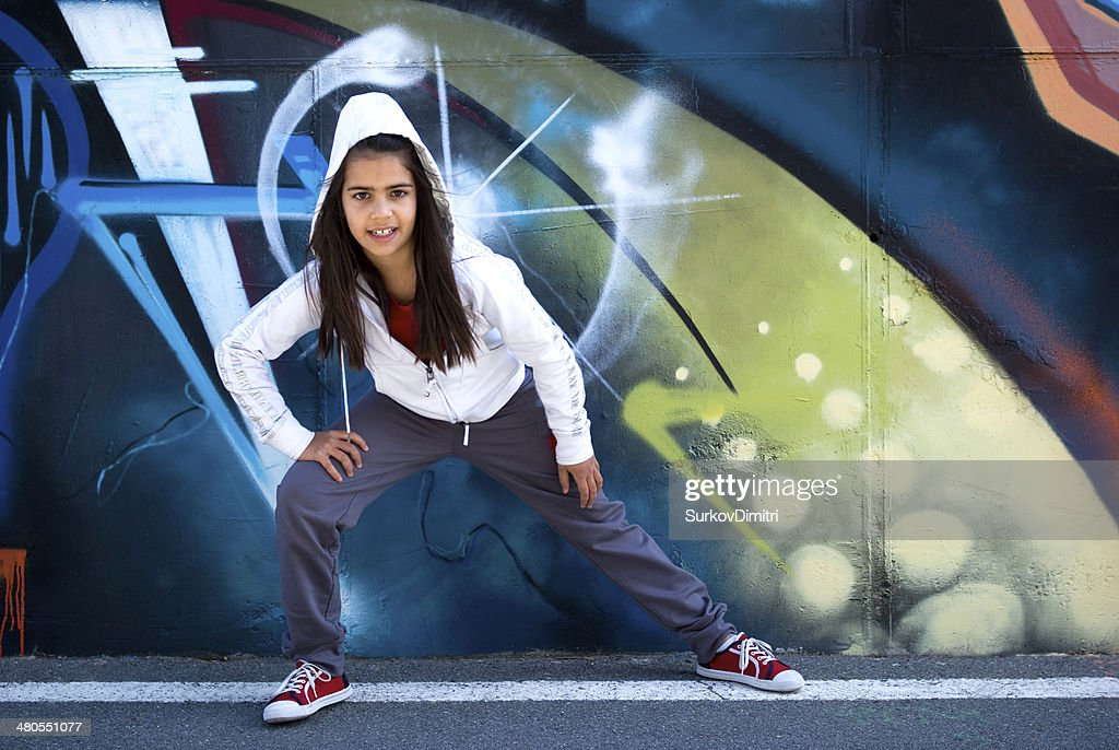 Young dancer Hip-Hop : Stock Photo