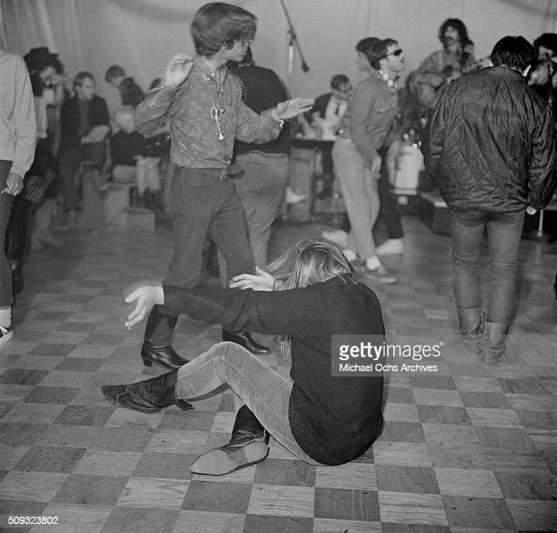 Young dancersdance during a Frank Zappa Concert called a 'Freak Out' at Whisky a Go Go in Los AngelesCalifornia'n 'n